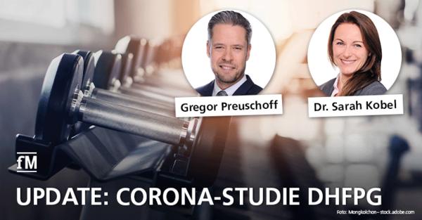 Update DHfPG Corona-Studie: Aktuelle Zahlen und Fakten zum zweiten Lockdown.