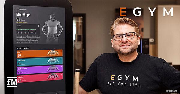 EGYM erhält 41 Millionen US-Dollar Wachstumskapital