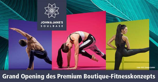Zur Eröffnungs-Sause des Premium Boutique-Fitnesskonzepts kommen unter anderem Nikeata Thompson und Lars Eidinger.