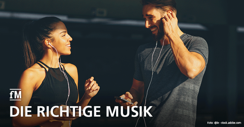 Fitness-Playlist: Die richtige Musik fürs Workout