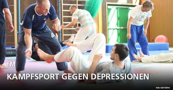 Kampfsport gegen Depressionen: Benefiz-Seminar zur Prävention seelischer Erkrankungen bei Sportlern.