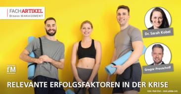 Fitnessbranche im Lockdown: Studienergbnisse der DHfPG