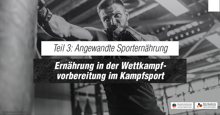 Serie Angewandte Sporternährung: Effektives Gewichtmachen - Worauf Kampfsportler in Sachen Ernährung achten sollten.