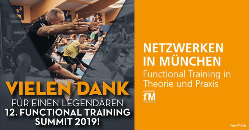 Netzwerken in München: Functional Training in Theorie und Praxis.