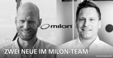 milon industries führt seine Zukunftsstrategie fortführen und hat zwei neue Mitarbeiter im Distributionsbereich eingestellt.