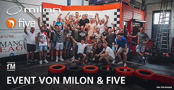 Netzwerk-Event milon und five