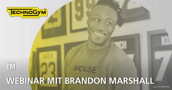 Technogym-Talks: Brandon Marshall spricht über ein erfolgreiches Mindset