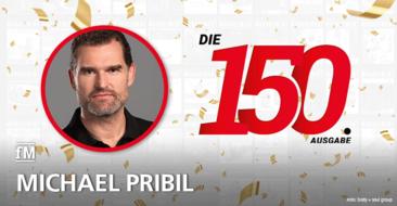 Michael Pribil (body + soul) gratuliert zur 150. Ausgabe der fitness MANAGEMENT international (fMi)
