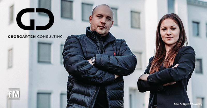 Agenturinhaber Daniel Großgarten und Francesca Reimer von Großgarten Consulting