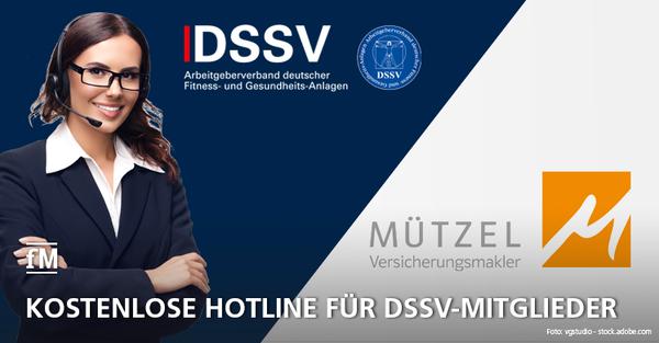 Fördermitglied Mützel Versicherungsmakler AG bietet kostenlose Telefonberatung für DSSV-Mitglieder an.