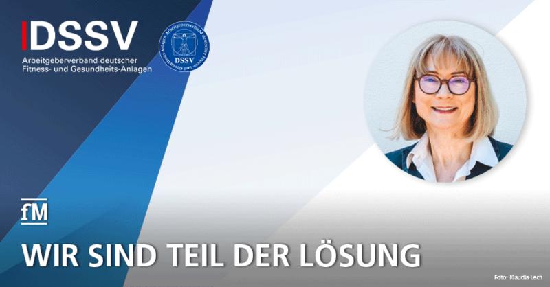 Kommentar Wiedereröffnung Fitnessstudios DSSV-Präsidentin Birgit Schwarze