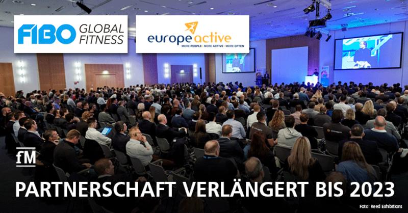 FIBO und EuropeActive: Partnerschaft verlängert bis 2023