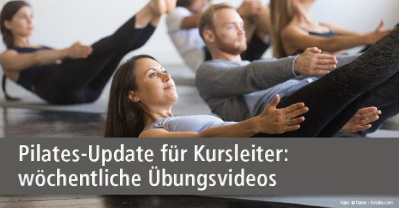9-wöchige Pilates-Video-Serie der BSA-Akademie