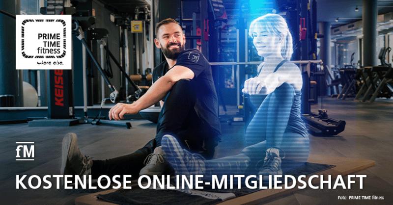 PRIME TIME fitness verlost kostenlose Online-Mitgliedschaften