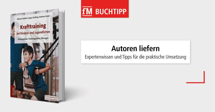 Buchtipp: Krafttraining bei Kindern und Jugendlichen aus dem Tectum Verlag.