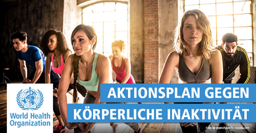 Der WHO Global Physical Activity Plan 2030