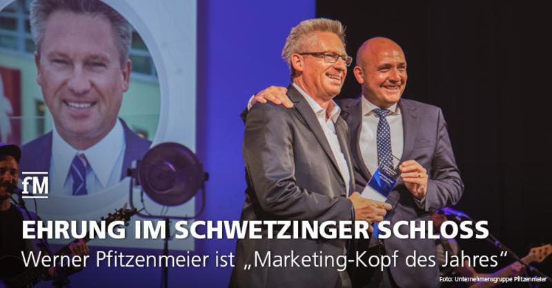 Marketing Club Rhein-Neckar zeichnet Fitness-Unternehmer Werner Pfitzenmeier im Schwetzinger Schloss für sein Lebenswerk aus.