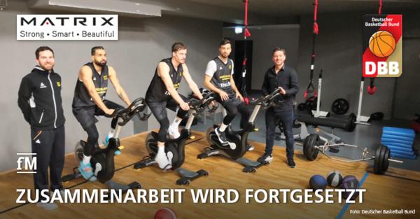 Matrix Fitness und DBB setzen ihre Zusammenarbeit fort