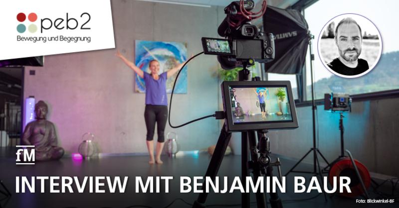 Optimal digital nicht nur in Corona-Zeiten: Benjamin Baur stellt 3DFitness vor