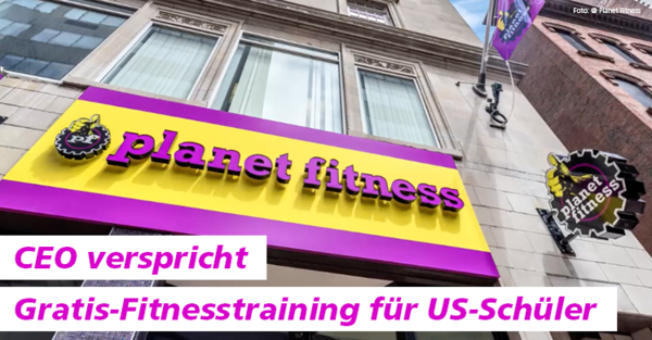 Train for free bei planet fitness während der Aktion 'Teen Summer Challenge'.
