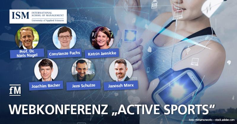 Webkonferenz 'Active Sports'