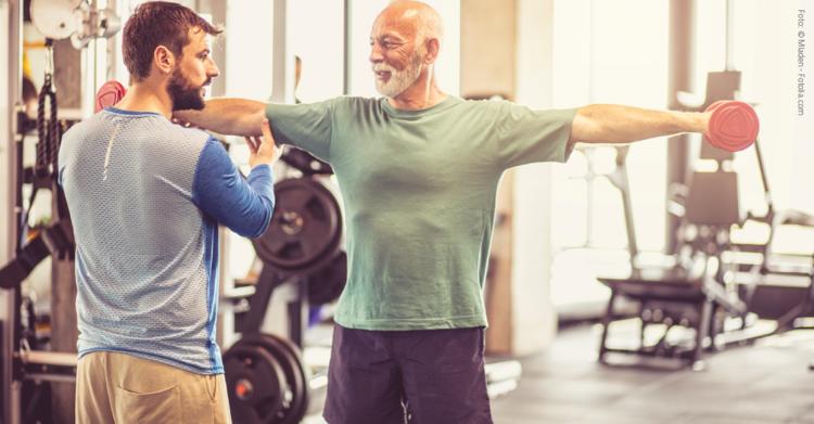 Die Wirkung körperlicher Aktivität zeigt sich Zellebene im Knorpel