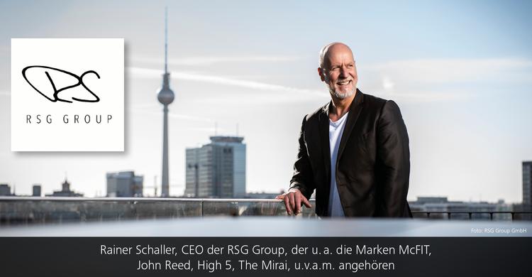 McFIT GLOBAL GROUP GmbH wird zu RSG Group GmbH