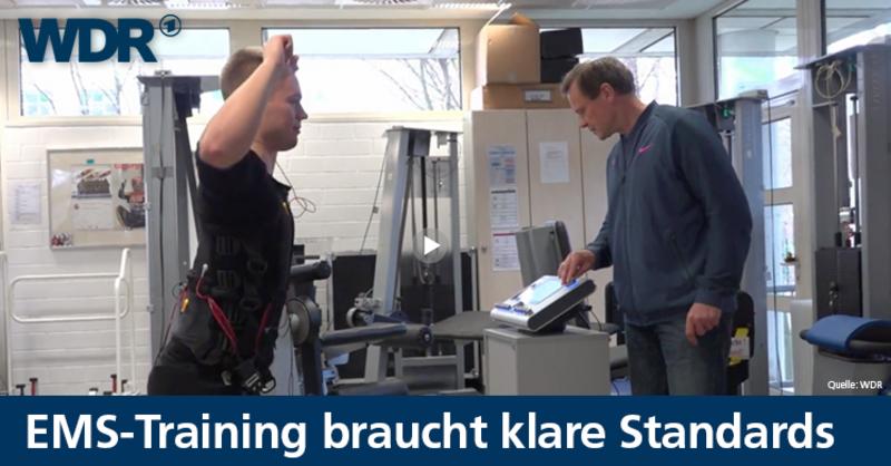 Die WDR-Dokumentation 'Krankenhaus nach EMS-Training'zeigt, wie sicheres EMS-Training gewährleistet werden kann