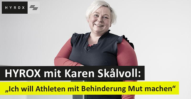 Startet für Crossfit Saar bei HYROX in Karlsruhe: Alpha-1-Athletin Karen Skalvoll