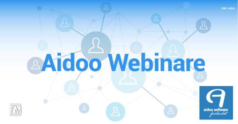 Das Software-Unternehmen Aidoo veranstaltet zwei Webinare zum Thema Mehrwertsteueranpassung