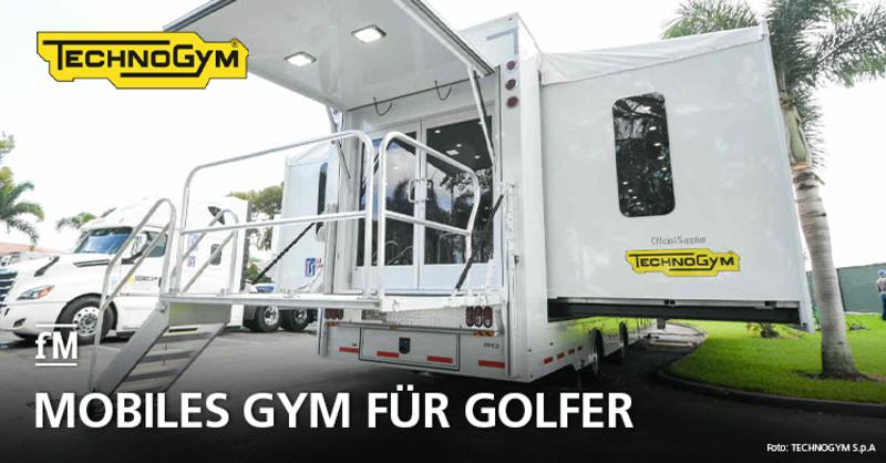 Mobiles Gym für Golfer: Technogym kooperiert mit PGA Tour