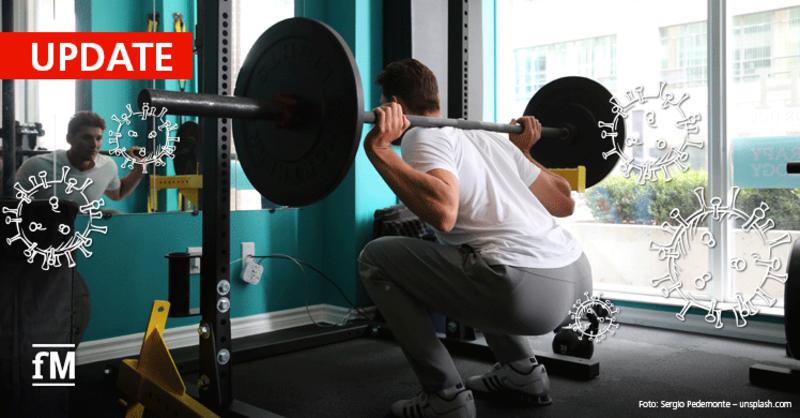 Corona-Update: Fitness- und Gesundheitsstudios beenden den Lockdown in allen Bundesländern.