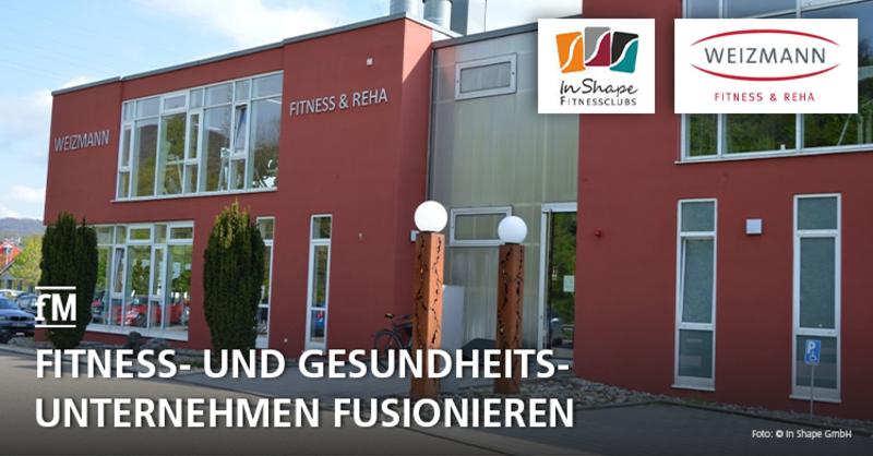 Die Göppinger In Shape-Gruppe übernimmt die Weizmann Fitness und Reha Studios in Aalen, Giengen und Heidenheim.