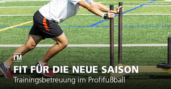 Fit für die neue Bundesliga-Saison: Fußballprofis schwitzen im Fitnessstudio für den Saisonauftakt.