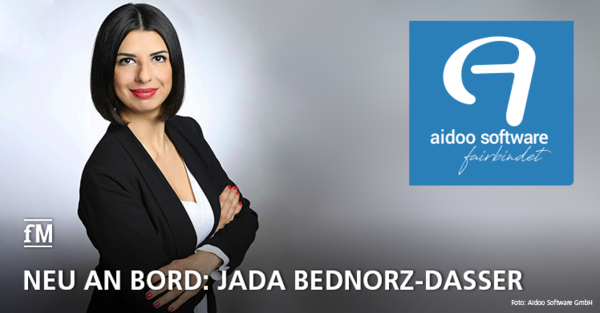 Neu an Bord: Aidoo Software Head of Communications Jada Bednorz-Dasser