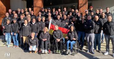 Das 'Concept2 Team Germany' bei den World Rowing Indoor Championships 2020 in Paris