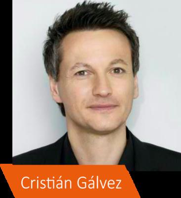 Autor, Coach und Moderator Cristián Gálvez verbindet modernste Erkenntnisse der angewandten Psychologie mit seiner Expertise als Coach von Persönlichkeiten aus Politik, Wirtschaft und Entertainment.