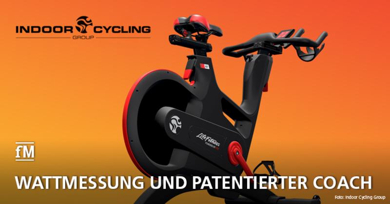Neues Indoor Bike: IC7 Indoor Cycle der Indoor Cycling Group