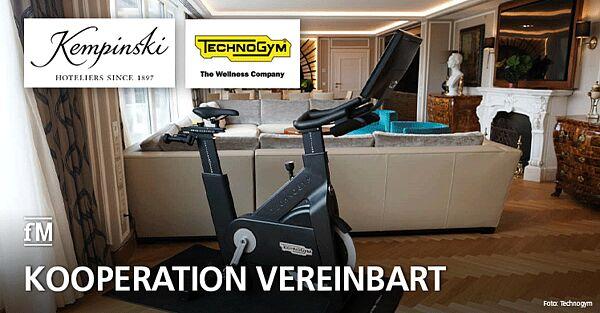 Gerätehersteller Technogym und Kempinski Hotels beschließen Kooperation