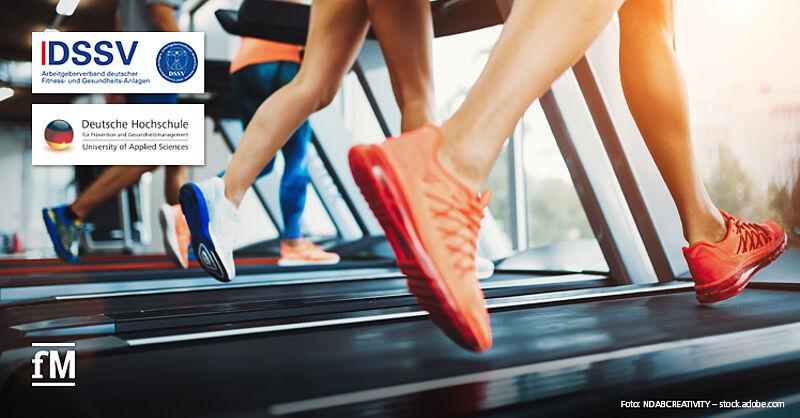 Wissenschaftliche Studie von DSSV und DHfPG zur Bedeutung von Fitnesstraining für die Gesundheit.