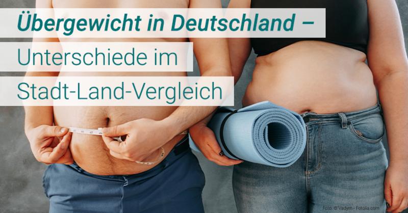 Fachzeitschrift 'Nature' veröffentlicht Studienergebnisse zu Fettleibigkeit: Auf dem Land eher ein Problem als im urbanen Raum