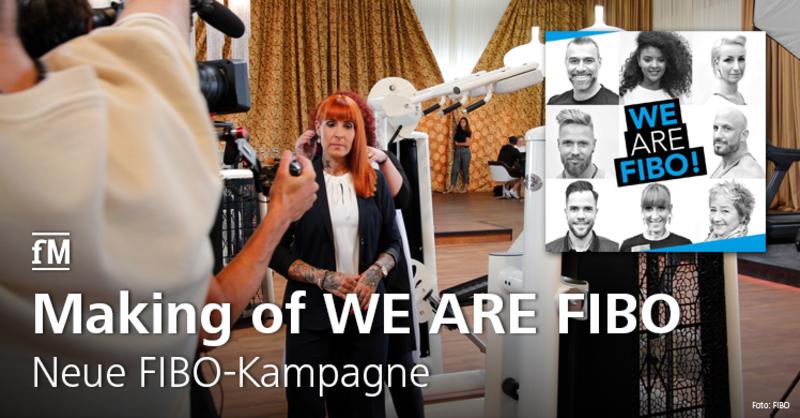 Neue FIBO-Kampagne mit Gesichtern aus der Branche