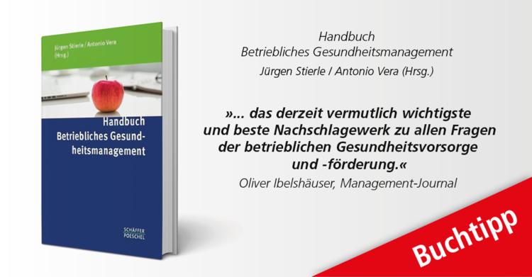 fM Buchtipp: Buchtipp: Handbuch Betriebliches Gesundheitsmanagement - Unternehmenserfolg durch Gesundheits- und Leistungscontrolling