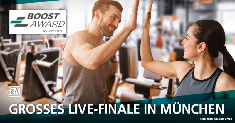 milon BOOST Award: Großes Live-Finale in München