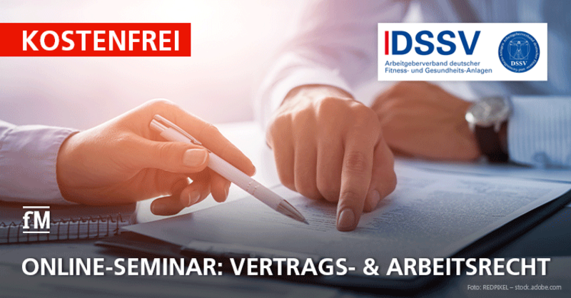 DSSV Online-Seminar: Vertrags- & Arbeitsrecht