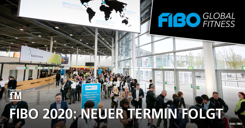 Coronavirus COVID-19: Die Fitnessmesse FIBO in Köln ist auf die zweite Jahreshälfte 2020 verschoben – ein neuer Termin folgt, gekaufte Tickets weiterhin gültig