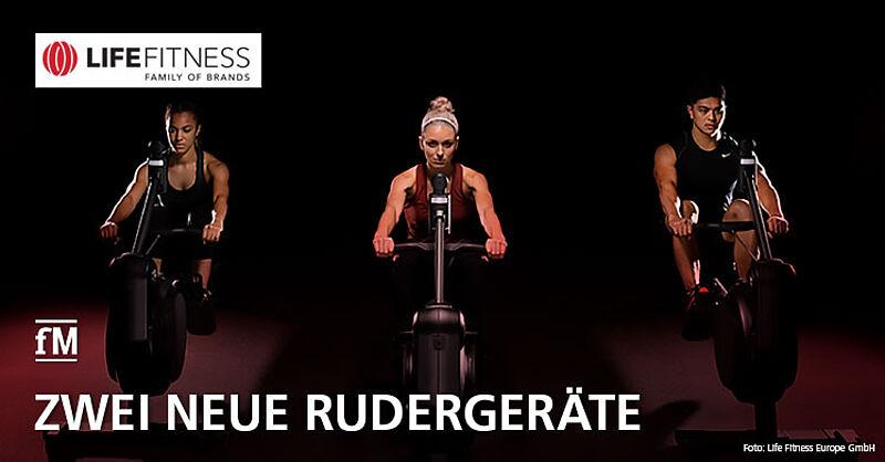 Life Fitness stellt zwei neue Rudergeräte vor