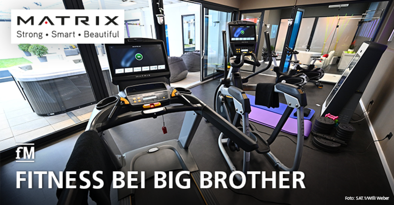Reality TV: Matrix Fitness sorgt für fitte Big Brother Bewohner