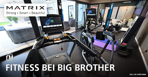 Reality TV: Matrix Fitness sorgt für fitte Big Brother Bewohner