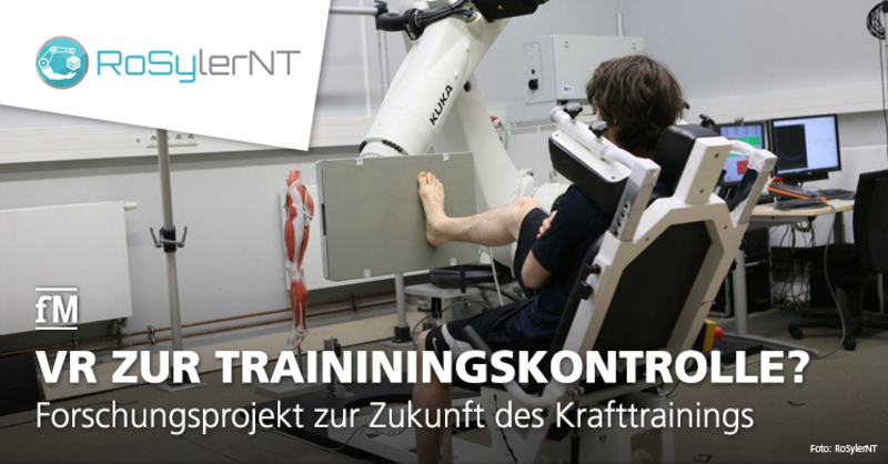 Forschungsprojekt zur Zukunft des Krafttrainings: Prototyp RosyLerNT.